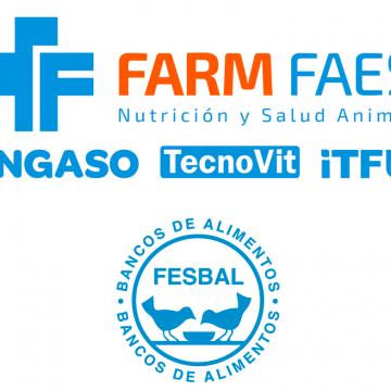 FARM Faes dona 20.000 raciones de carne de porcino ibérico a la federación española de bancos de alimentos